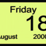 Aug 18 still